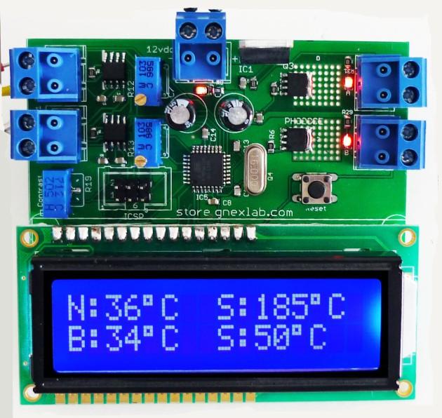 LCD Thermocouple Extruder Controller